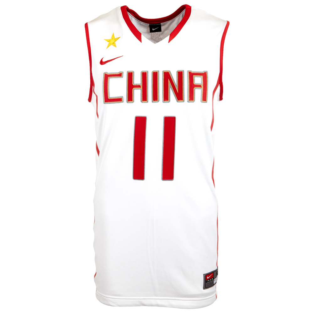 basketball jersey china nike 11 yi jianlian 394854 s m l. Black Bedroom Furniture Sets. Home Design Ideas