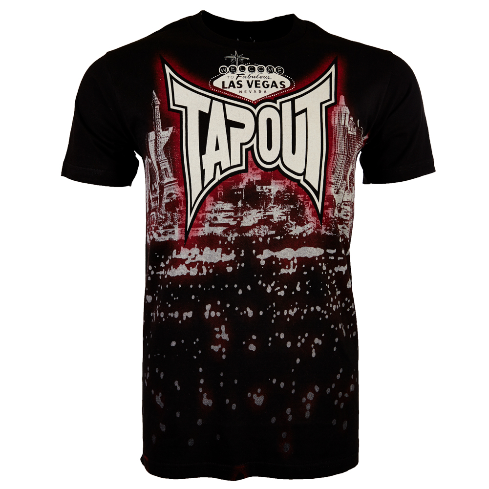 tapout mens t shirt s m l xl xxl hardcore darkside bolt. Black Bedroom Furniture Sets. Home Design Ideas