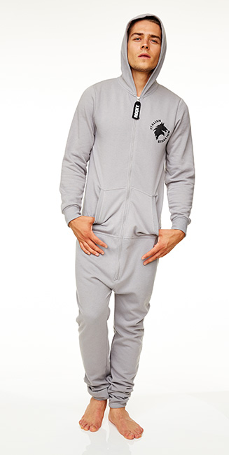 rocky balboa jumpsuit with hood italian stalion jumpsuit one piece suit new ebay. Black Bedroom Furniture Sets. Home Design Ideas
