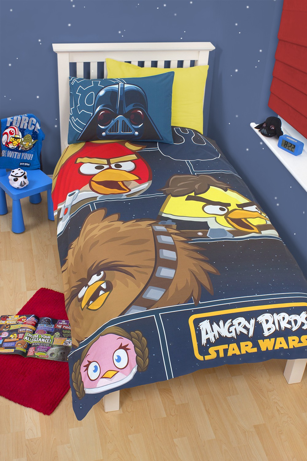 angry birds star wars edition bettw sche 135x200 rebels. Black Bedroom Furniture Sets. Home Design Ideas