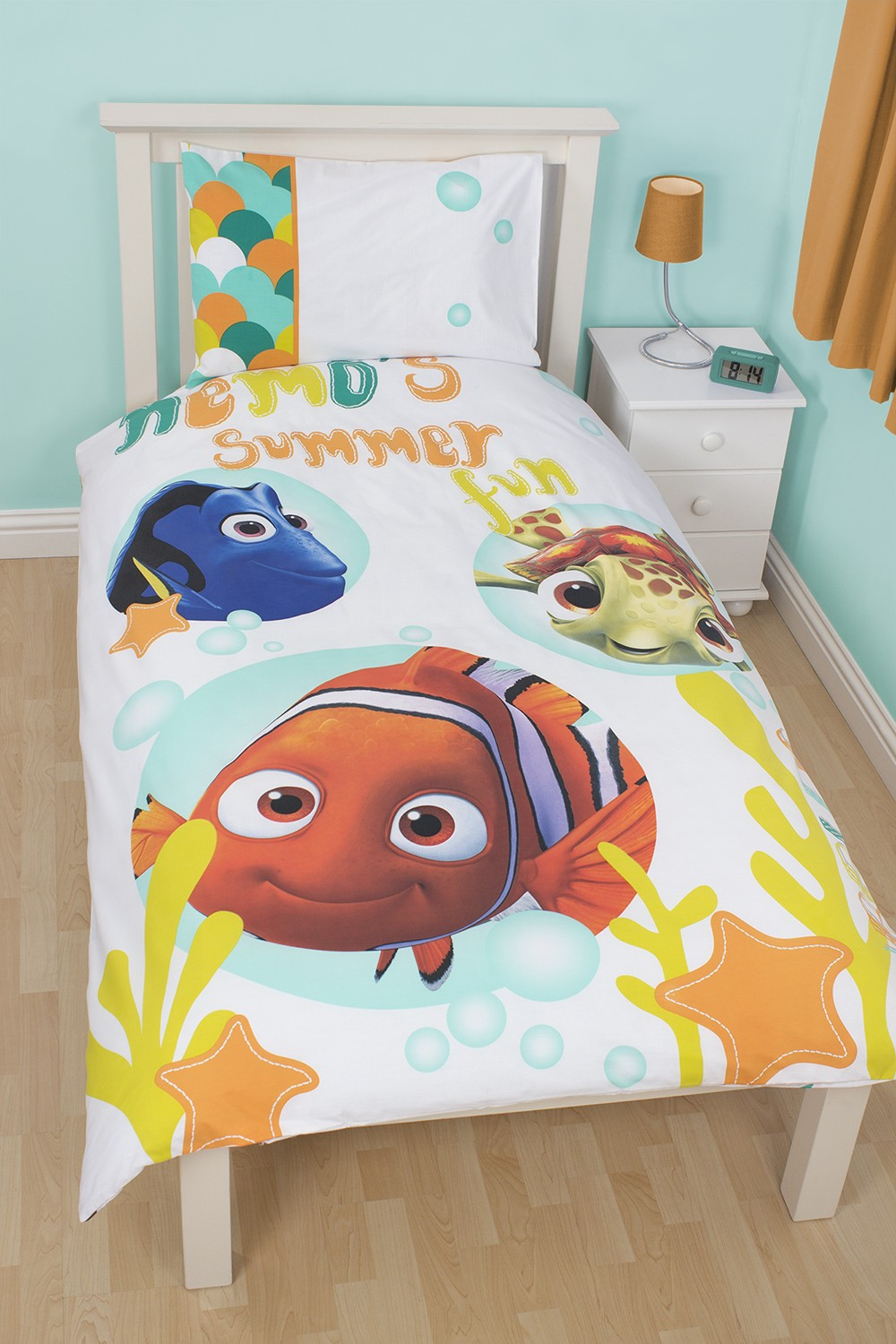 disney findet nemo bettw sche bubbles 135x200. Black Bedroom Furniture Sets. Home Design Ideas