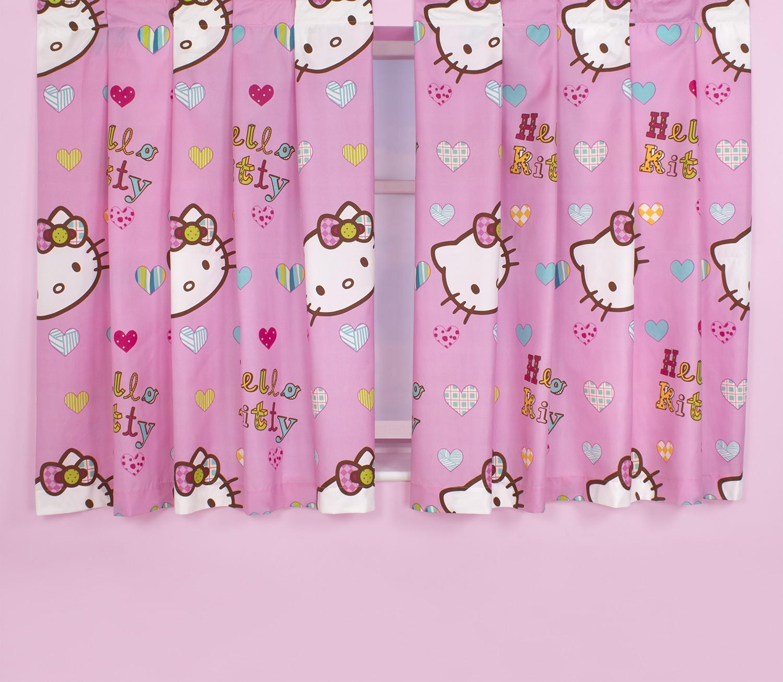 gardinen deko hello kitty gardinen gardinen dekoration