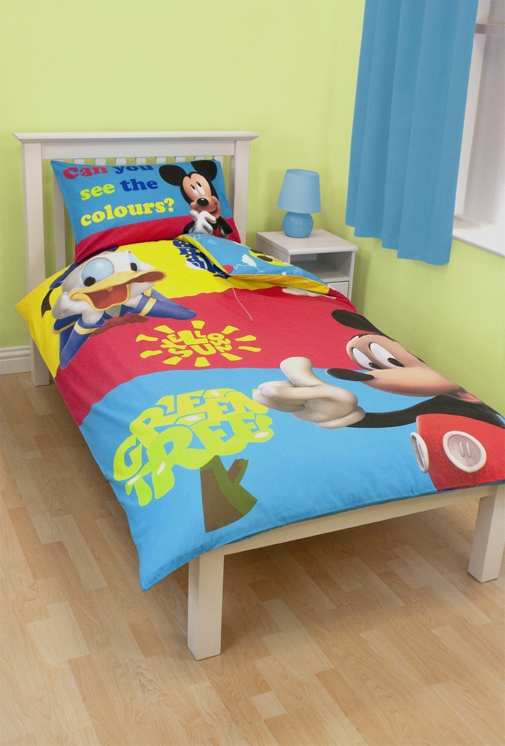 mickey mouse bettw sche 135x200. Black Bedroom Furniture Sets. Home Design Ideas