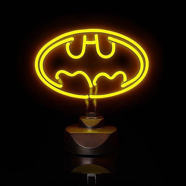 batman neon leuchte 30cm. Black Bedroom Furniture Sets. Home Design Ideas