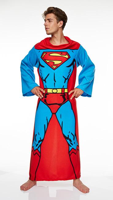 superman decke mit rmeln dc comics kuscheldecke tagesdecke rmeldecke neu ebay. Black Bedroom Furniture Sets. Home Design Ideas