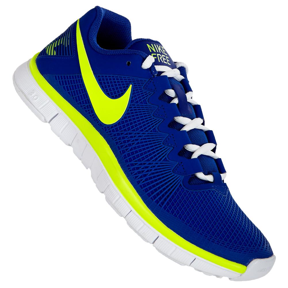 Nike Free 3.0 Blau Gelb