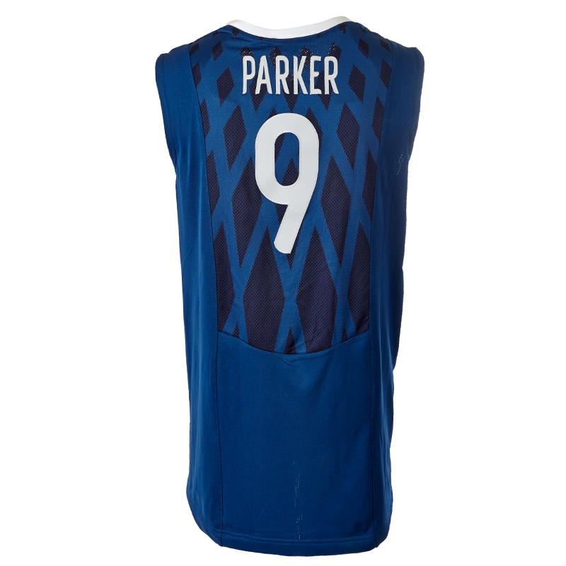 france nike basketball jersey 9 parker s m l xl xxl. Black Bedroom Furniture Sets. Home Design Ideas