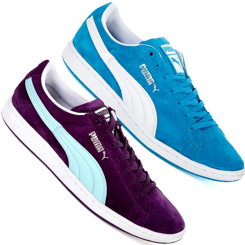 puma supersuede damen leder sneaker 36 37 38 39 40 41 suede 351275 schuhe neu ebay. Black Bedroom Furniture Sets. Home Design Ideas