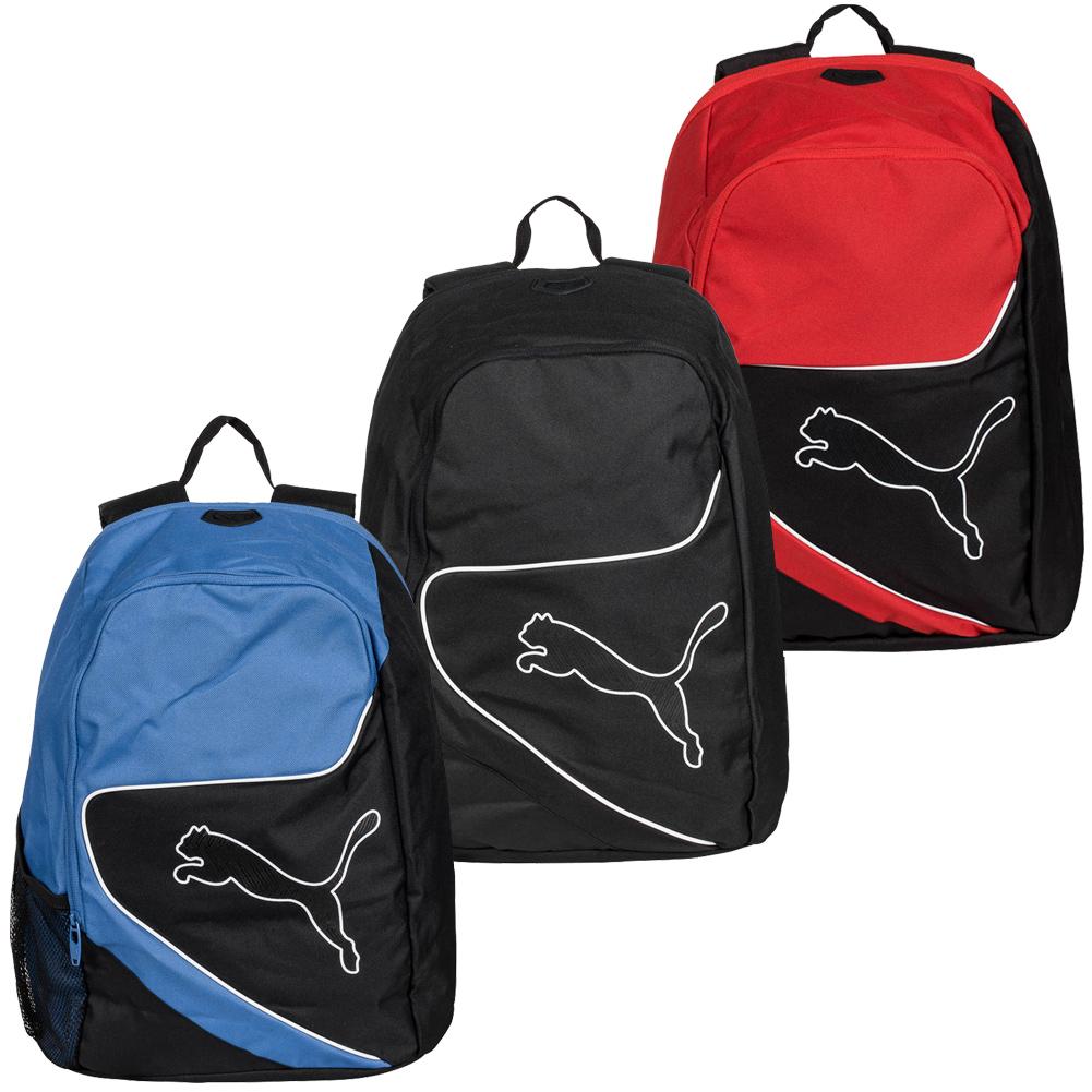 0b88fd092fc1 Puma Powercat 5.12 Uni Bag Backpack Back Pack 070696 Black Blue Red ...
