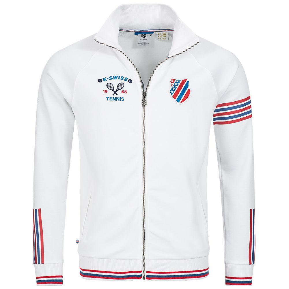 k swiss zip up jacket herren sweat sweatshirt hoody tennis jacke kapuze hood neu ebay. Black Bedroom Furniture Sets. Home Design Ideas