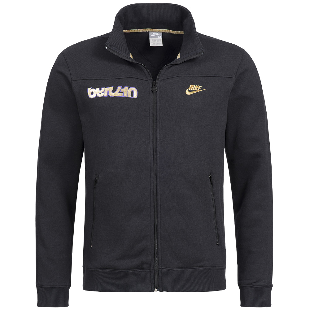 nike herren track top trainingsjacke full zip jacket. Black Bedroom Furniture Sets. Home Design Ideas