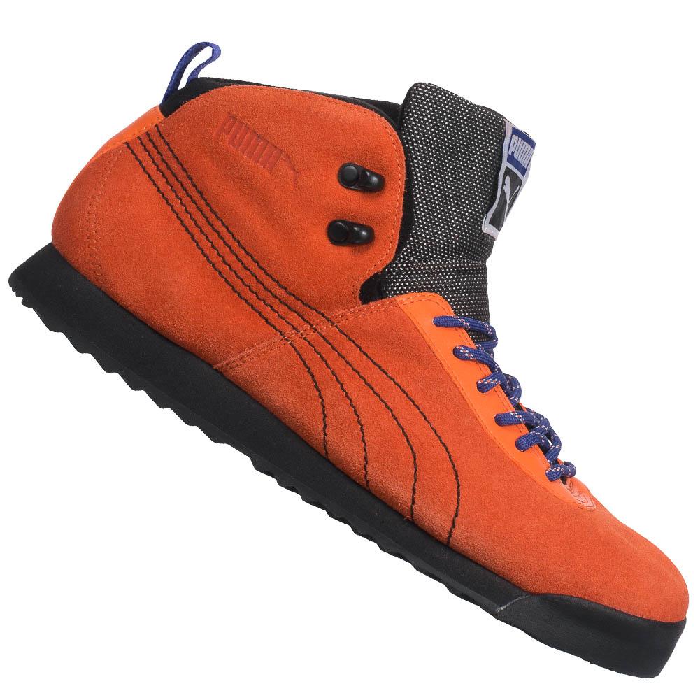 PUMA Roma Hiker Winterschuhe Unisex Stiefel Winterstiefel Boots Stiefel Leder