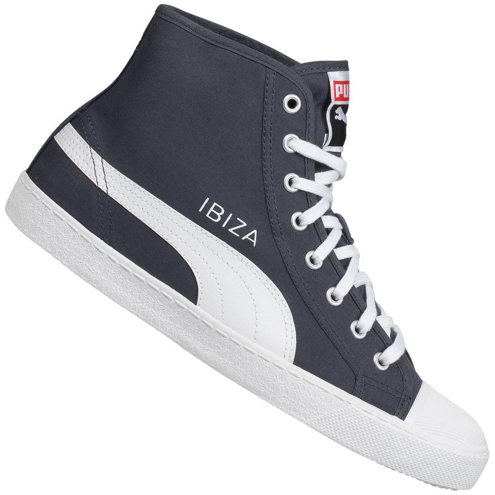 PUMA-Ibiza-Mid-High-Unisex-Sneaker-Freizeit-Schuhe-Damen-Herren-356534-Schuh-neu