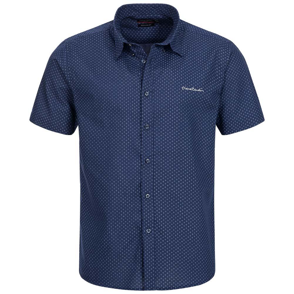 pierre cardin herren kurzarm hemd freizeithemd mens shirt. Black Bedroom Furniture Sets. Home Design Ideas
