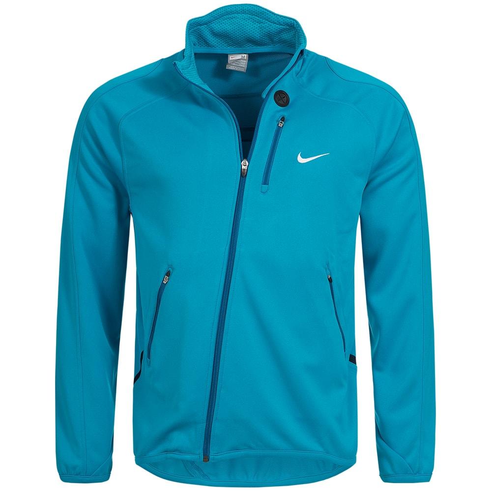 Nike-Herren-Trainings-Jacke-Fitnessjacke-Sport-Stehkragen-Sportjacke-Fitness-neu