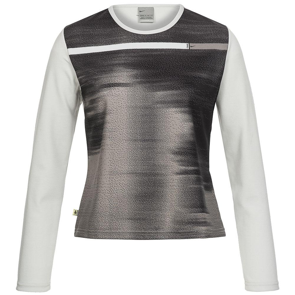 nike damen langarm fitness shirt 222402 003 sport langarmshirt xs xl neu ebay. Black Bedroom Furniture Sets. Home Design Ideas