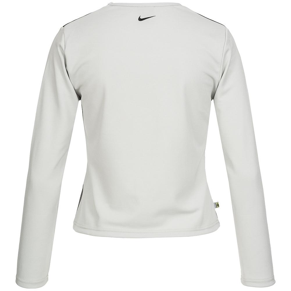 nike damen langarm fitness shirt 222402 003 sport. Black Bedroom Furniture Sets. Home Design Ideas