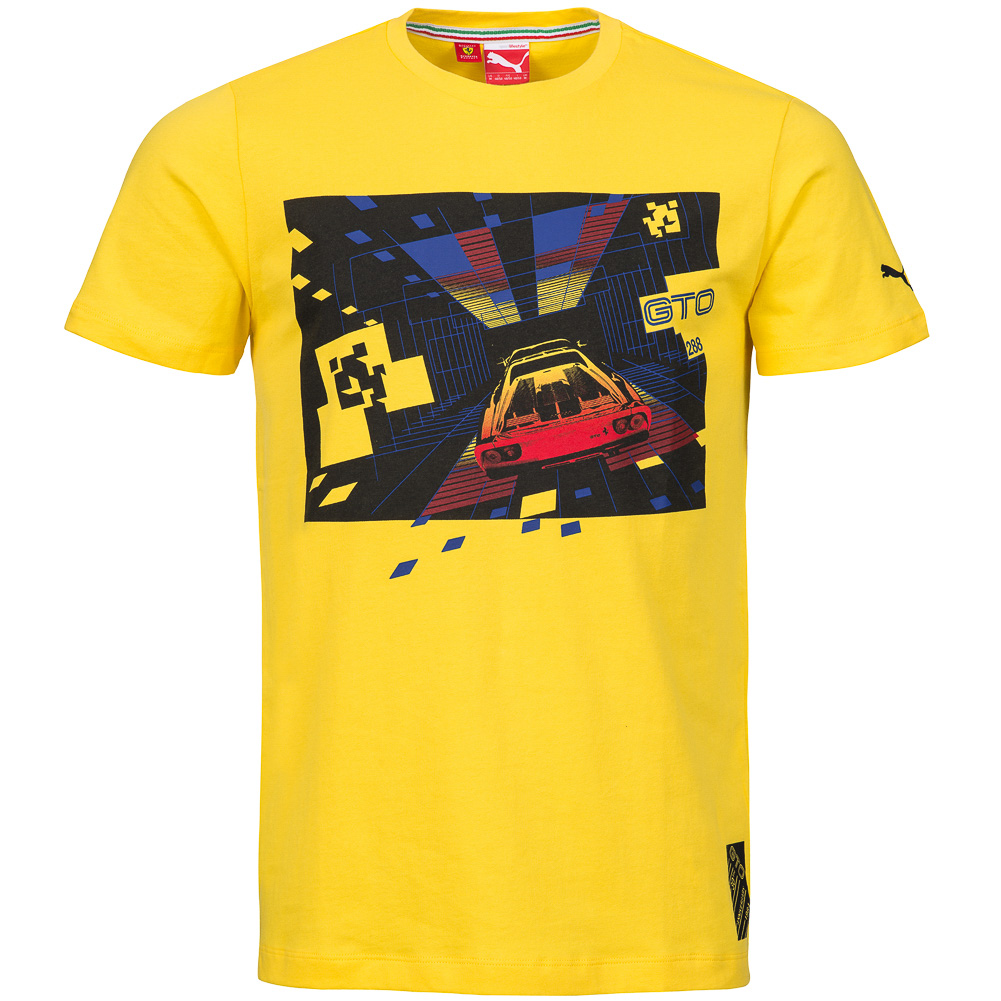 puma scuderia ferrari sf herren fan t shirt formel 1 tee. Black Bedroom Furniture Sets. Home Design Ideas