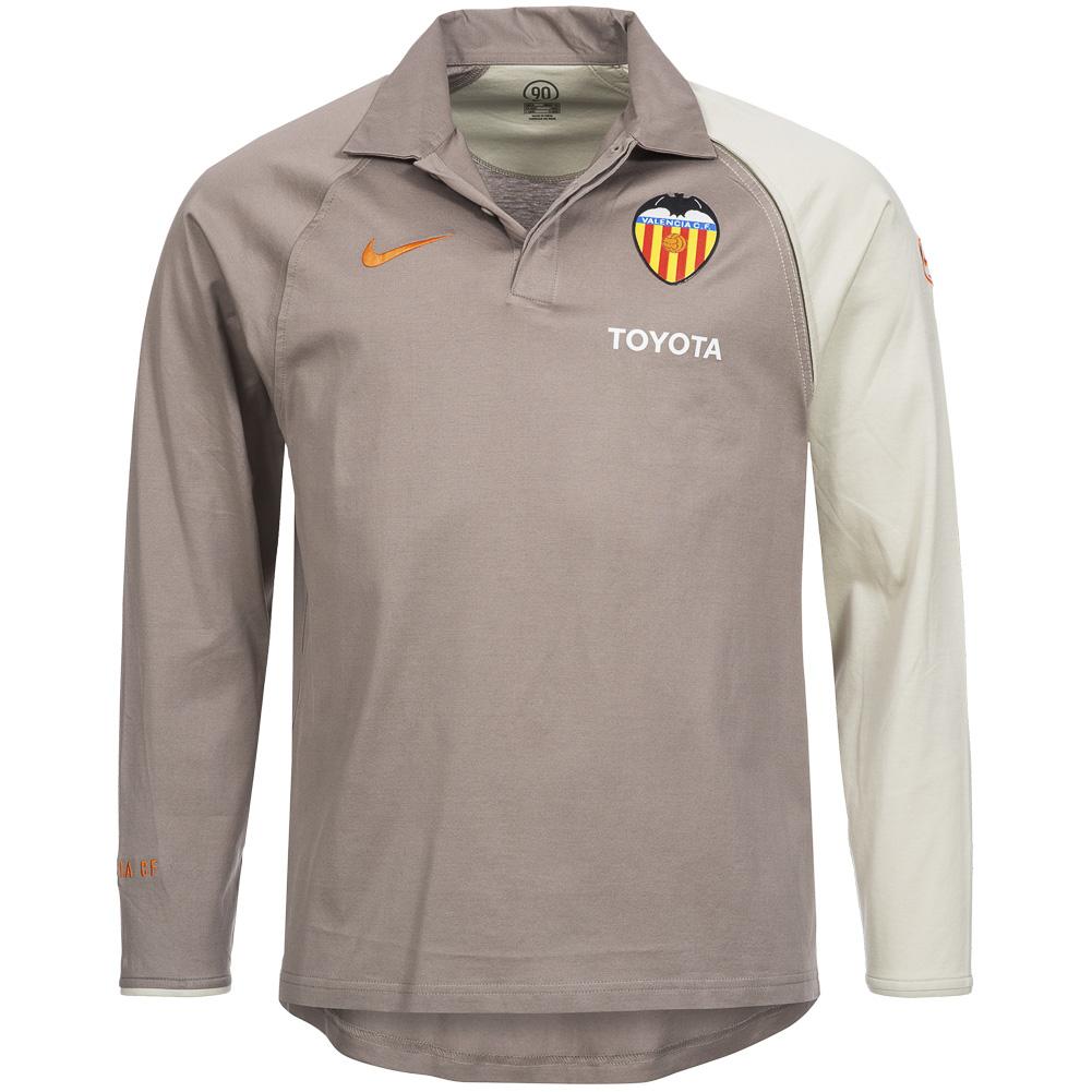 Fc Valencia Nike Presentation Polo Shirt Long Sleeve Football Spain