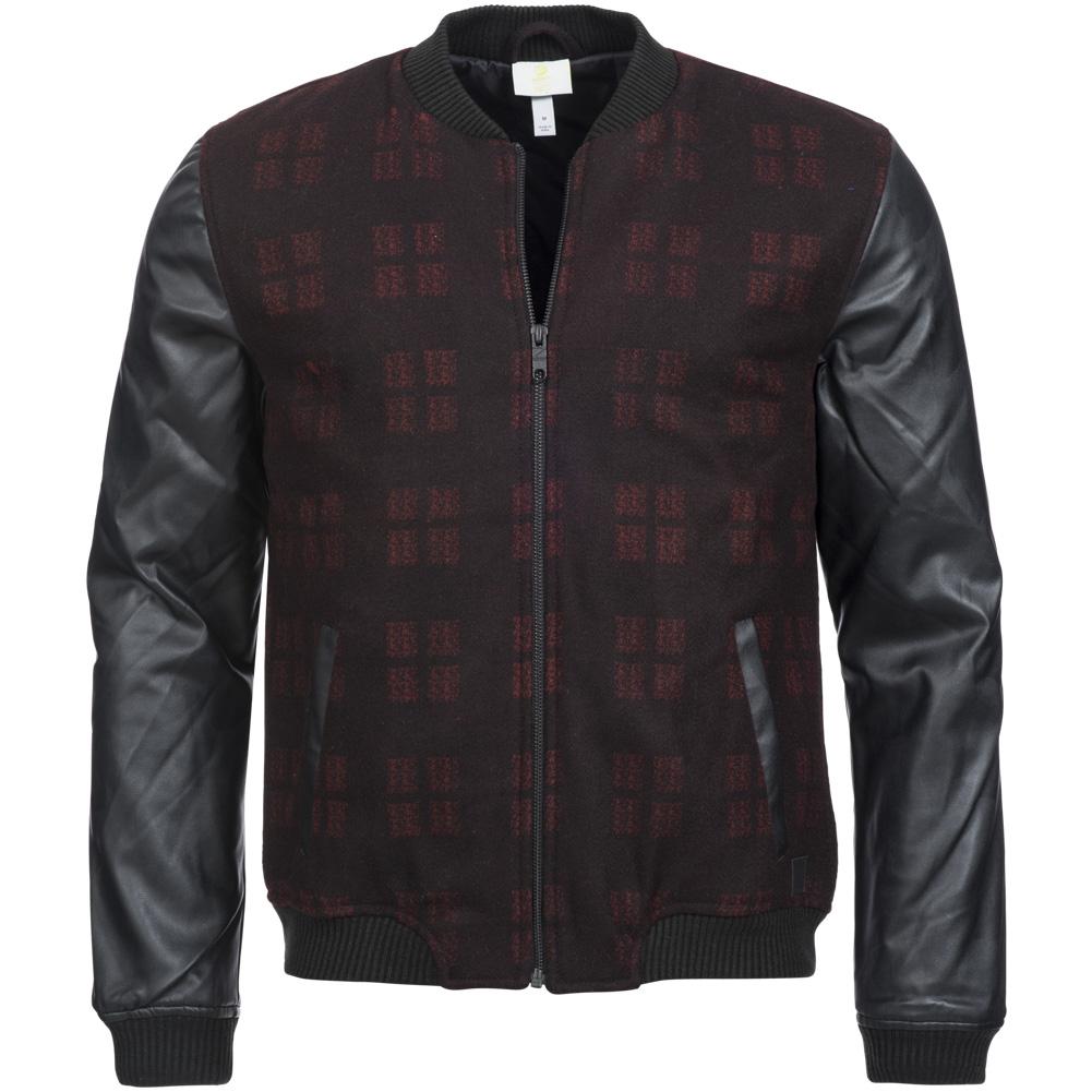 adidas neo wool biker jacket herren jacke aus wolle s02860. Black Bedroom Furniture Sets. Home Design Ideas