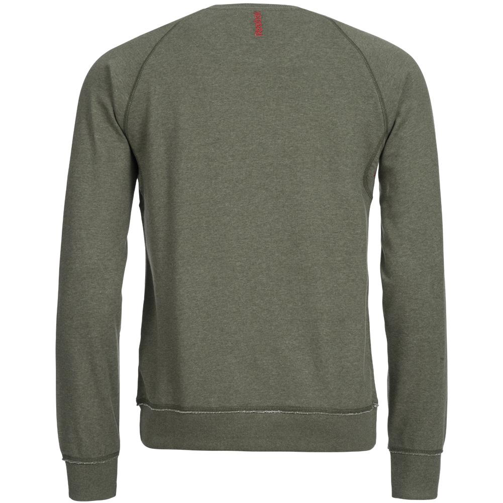 reebok ssg ls crewneck herren sweatshirt z78141 sport pullover gr l neu ebay. Black Bedroom Furniture Sets. Home Design Ideas