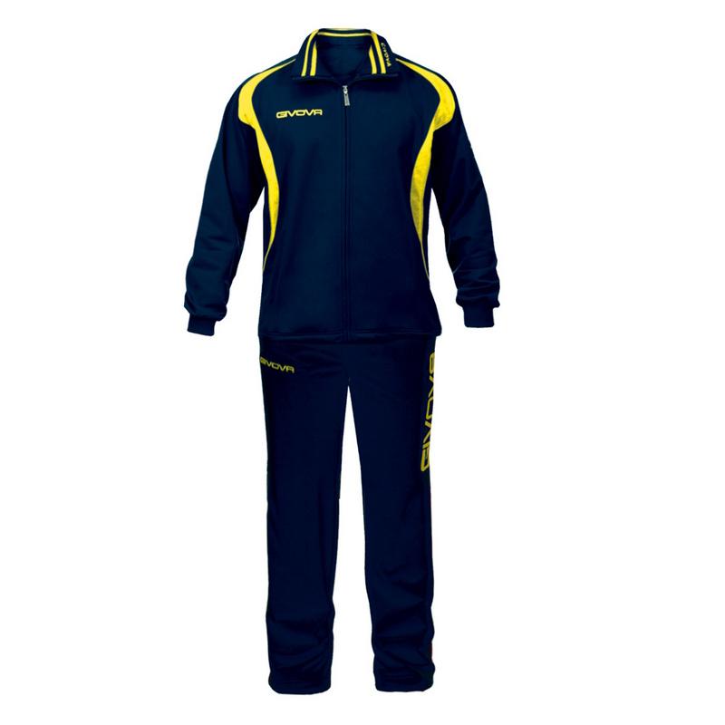 Givova Tuta Time Tracksuit Leisure Suit Football Suit 5XS - 3XL new