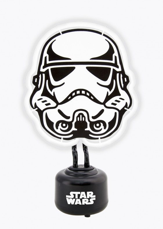 star wars stormtrooper neon light nachtleuchte. Black Bedroom Furniture Sets. Home Design Ideas