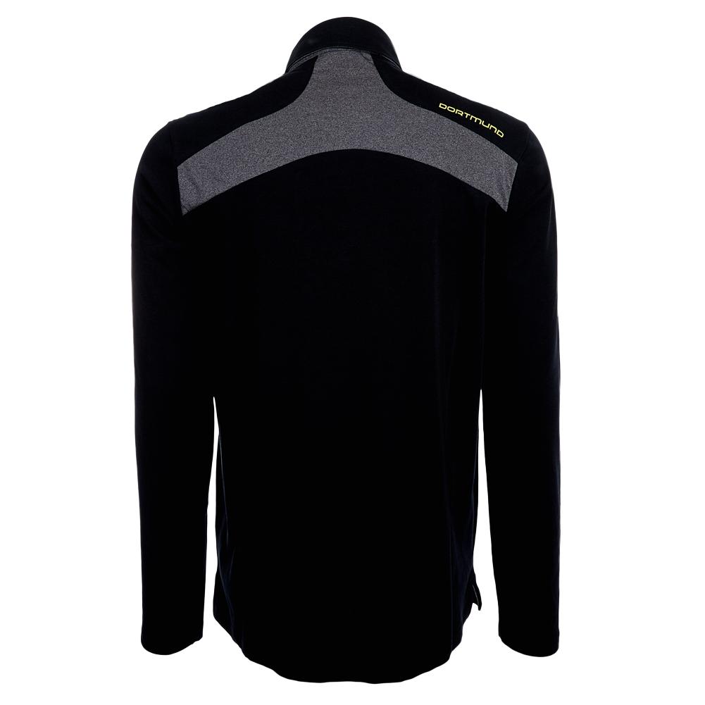 bvb 09 borussia dortmund puma herren langarm polo shirt. Black Bedroom Furniture Sets. Home Design Ideas