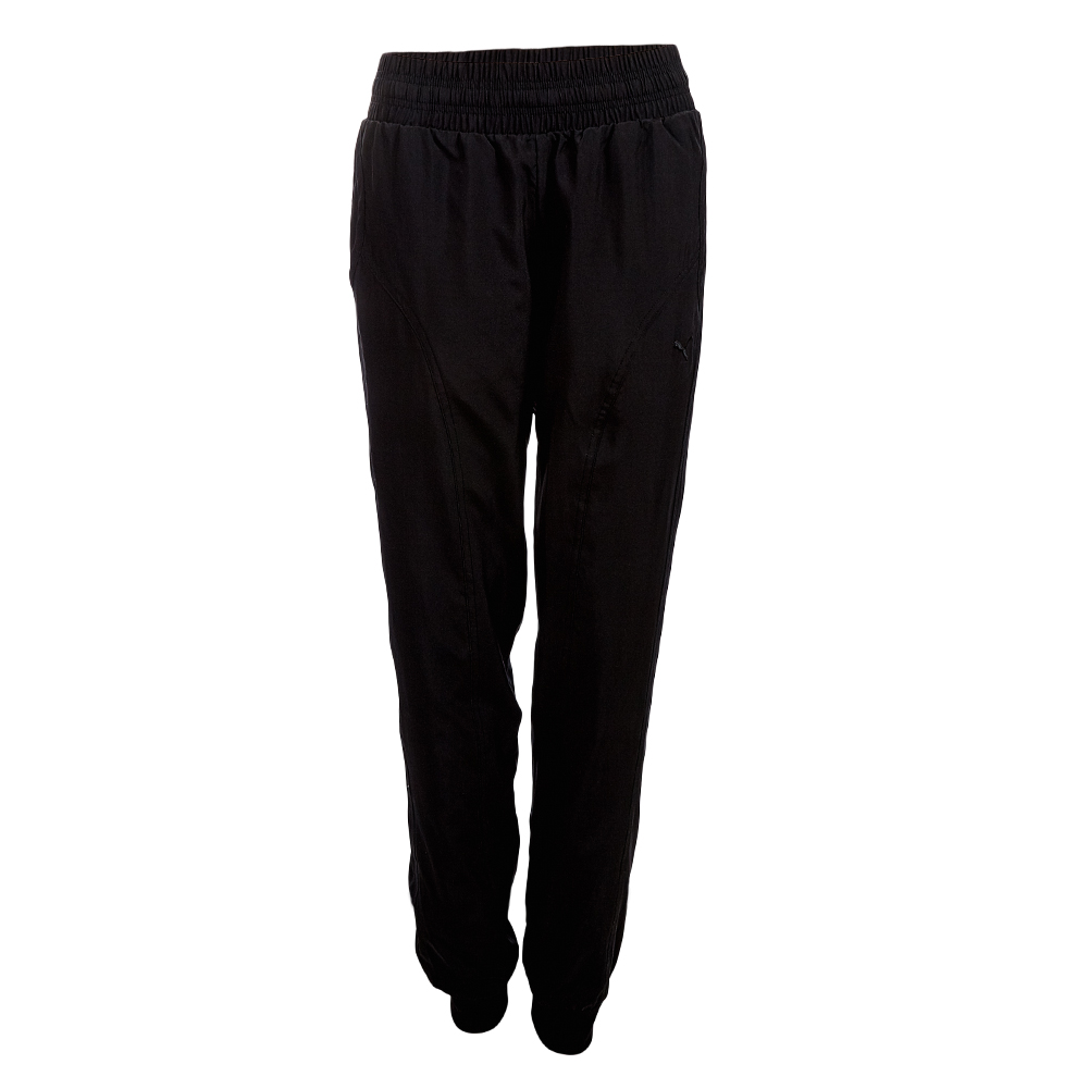 puma damen woven sporthose 823920 01 trainingshose fitness. Black Bedroom Furniture Sets. Home Design Ideas