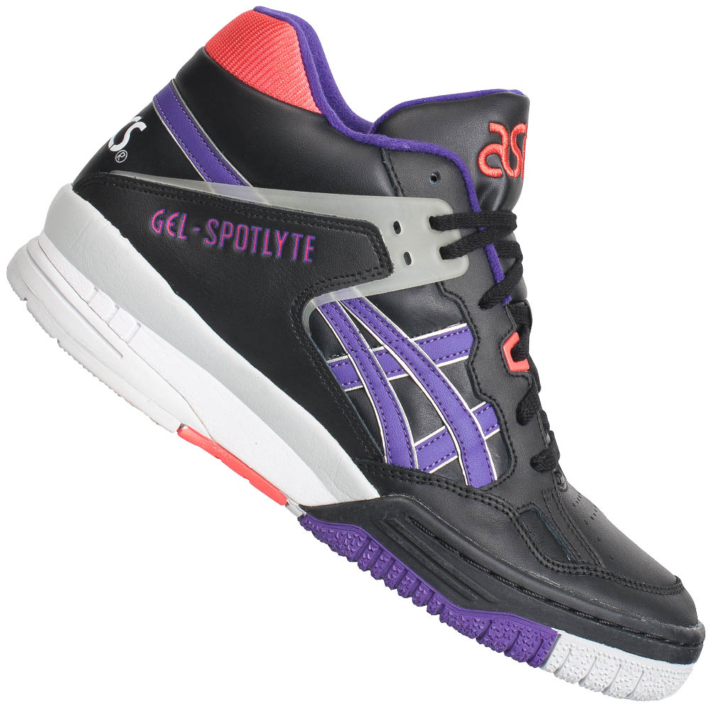 asics gel spotlyte herren mid sneaker h419l h447l schuhe freizeit high top neu ebay. Black Bedroom Furniture Sets. Home Design Ideas