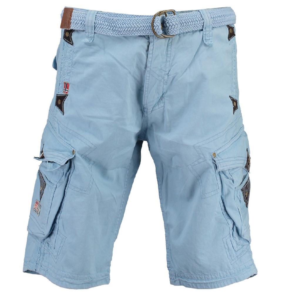 Geographical-Norway-Herren-Bermuda-Short-Parapente-Mens-Shorts-Sommer-Hose-Cargo