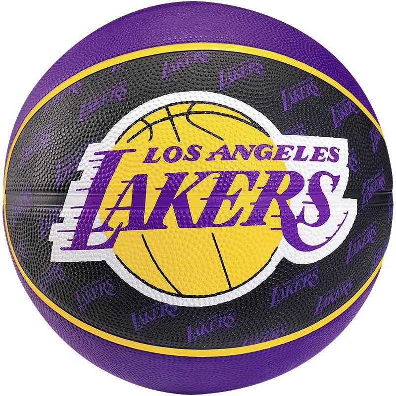 Nba Basketball Los Angeles Lakers: Basketball Ball Spalding LA Lakers Team Outdoor 5 7 Los