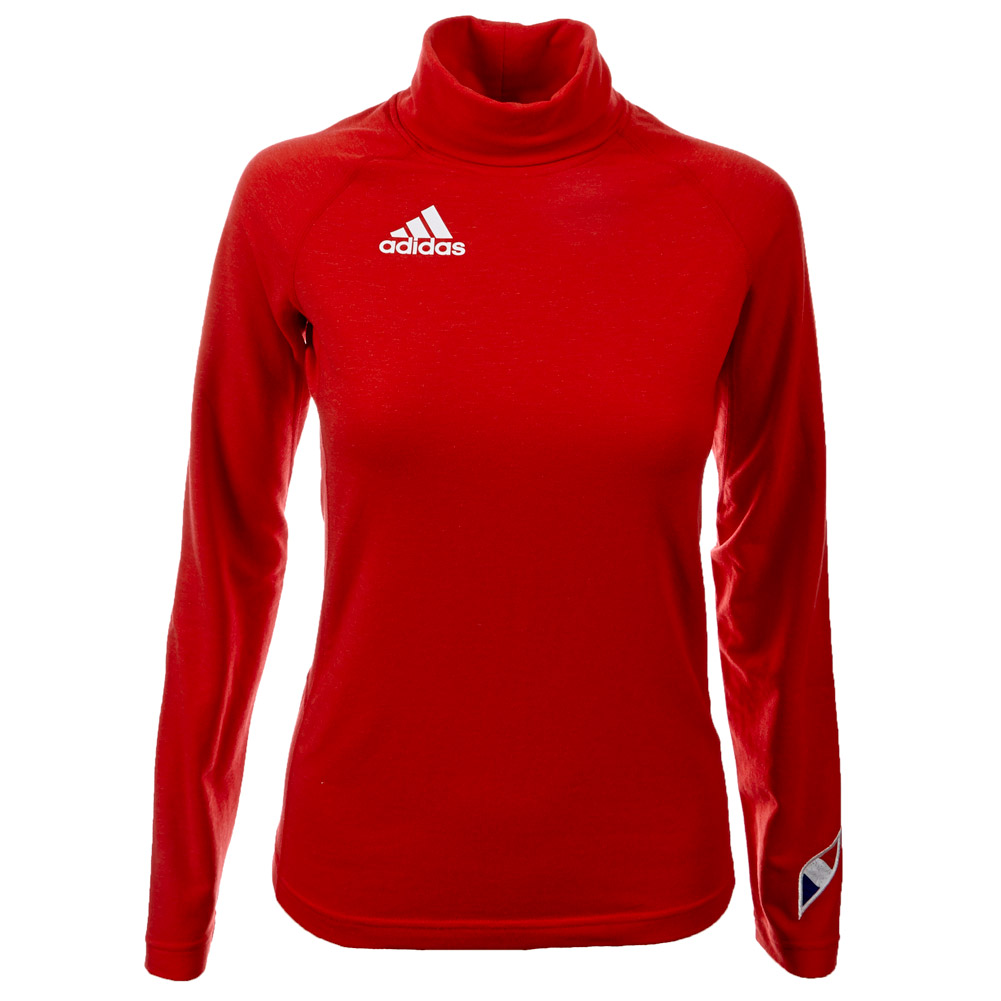 adidas damen herren langarm rollkragen pullover. Black Bedroom Furniture Sets. Home Design Ideas