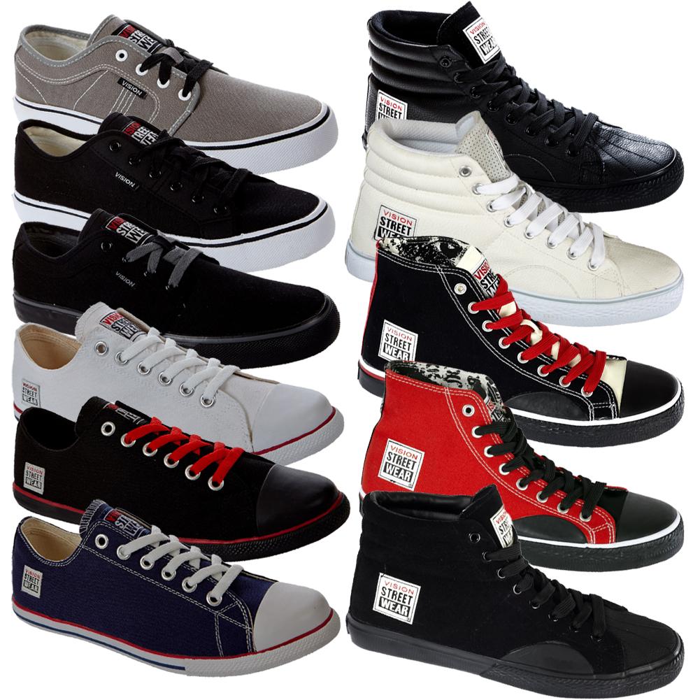 Details zu Vision Street Wear Schuhe 41 42 43 45 46 47 Streetwear Skateschuh Suede neu