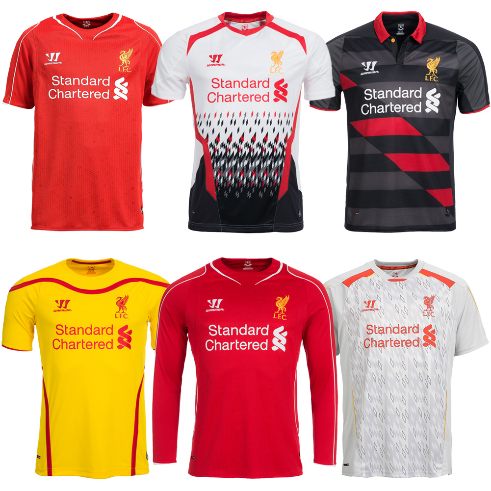 Liverpool Fc Maglia Warrior Premier League Shirt Home Away  Maglia