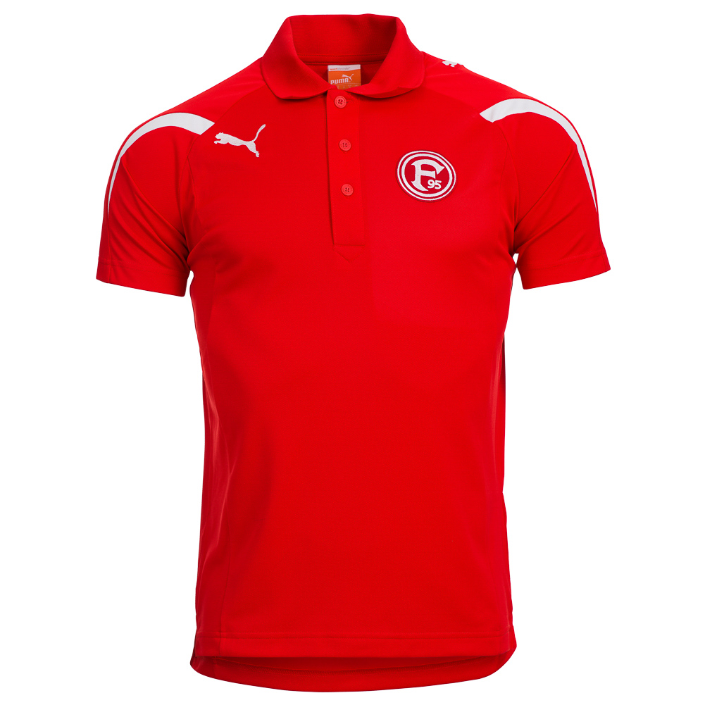 fortuna d sseldorf puma polo shirt freizeit shirt kinder. Black Bedroom Furniture Sets. Home Design Ideas