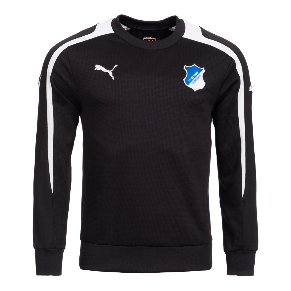 tsg 1899 hoffenheim trainings sweatshirt puma herren. Black Bedroom Furniture Sets. Home Design Ideas