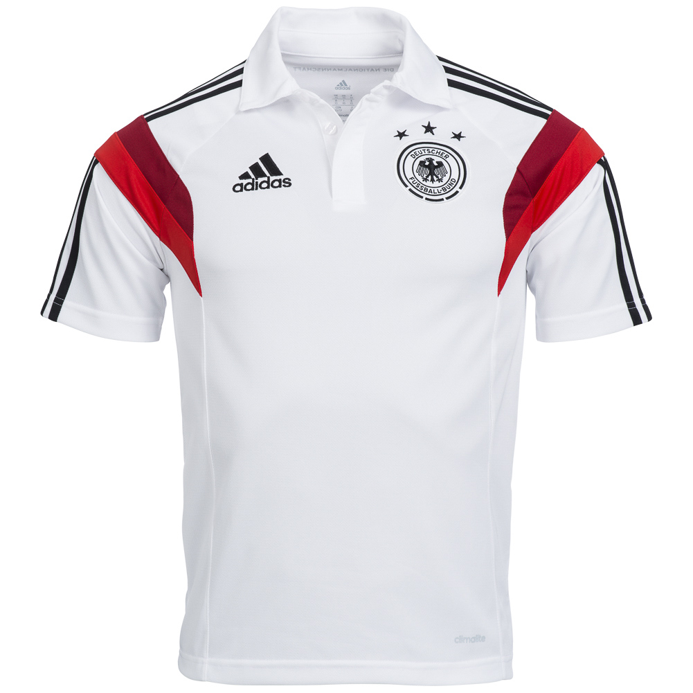 dfb adidas polo shirt germany d83045 football fan polo. Black Bedroom Furniture Sets. Home Design Ideas