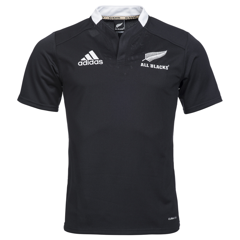 neuseeland all blacks adidas heim trikot herren home. Black Bedroom Furniture Sets. Home Design Ideas