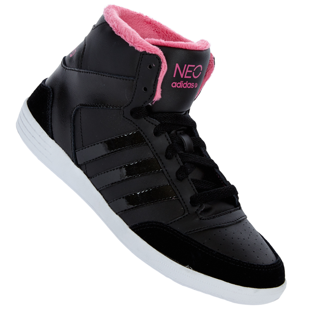 adidas vl neo hoops mid w damen sneaker schuhe 36 37 38 39 40 41 42. Black Bedroom Furniture Sets. Home Design Ideas