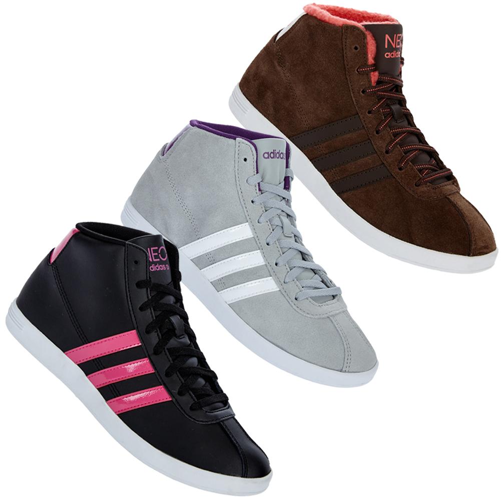 adidas vl neo court mid w damen schuhe sneaker 36 37 38 39 40 41 42 43 neu ebay. Black Bedroom Furniture Sets. Home Design Ideas