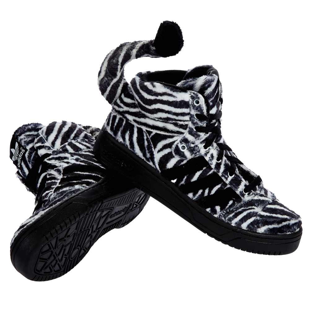 adidas originals jeremy scott obyo js sneaker zebra schuhe. Black Bedroom Furniture Sets. Home Design Ideas