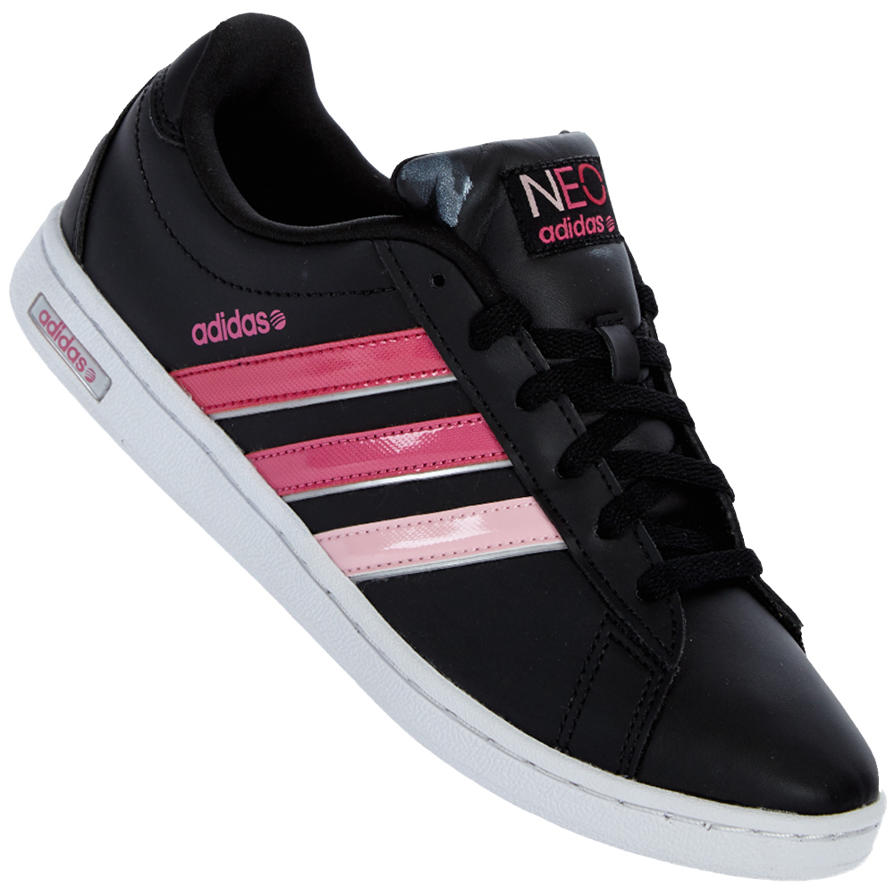 adidas neo label derby w damen sneaker freizeit leder schuhe 36 37 38 39 40 41 ebay. Black Bedroom Furniture Sets. Home Design Ideas