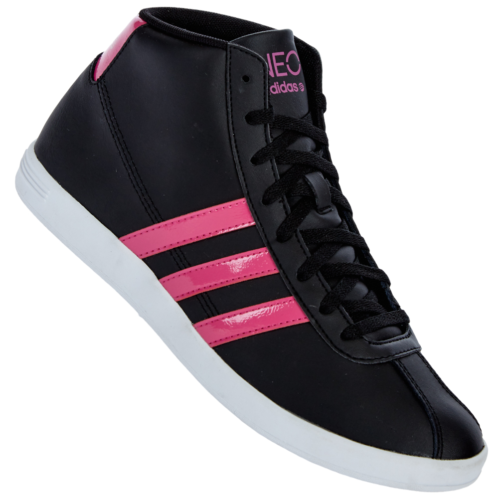 adidas vl neo court mid w damen schuhe sneaker 36 37 38 39 40 41 42 43. Black Bedroom Furniture Sets. Home Design Ideas
