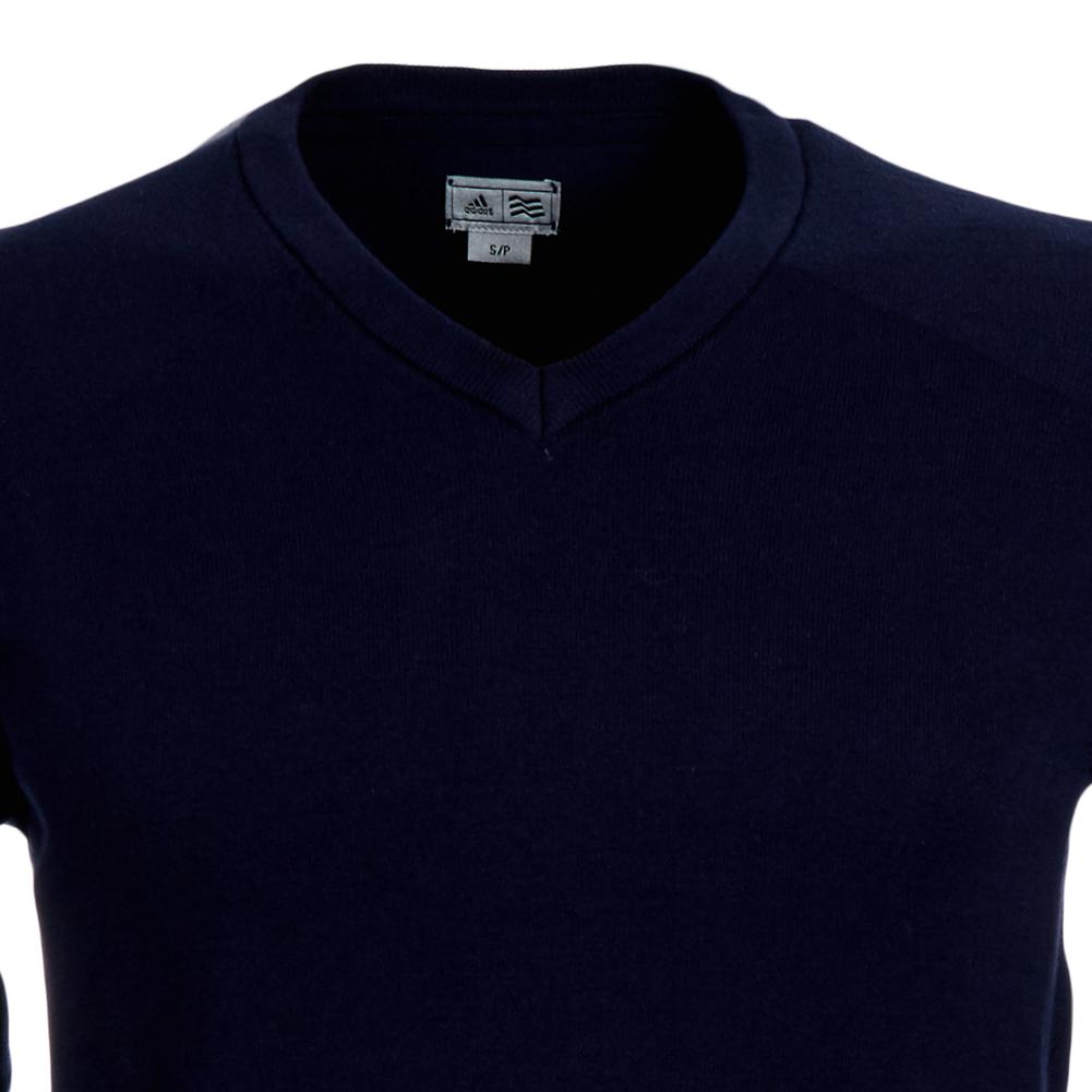 adidas herren golf pullover v ausschnitt w47186 freizeit sweatshirt gr s neu ebay. Black Bedroom Furniture Sets. Home Design Ideas