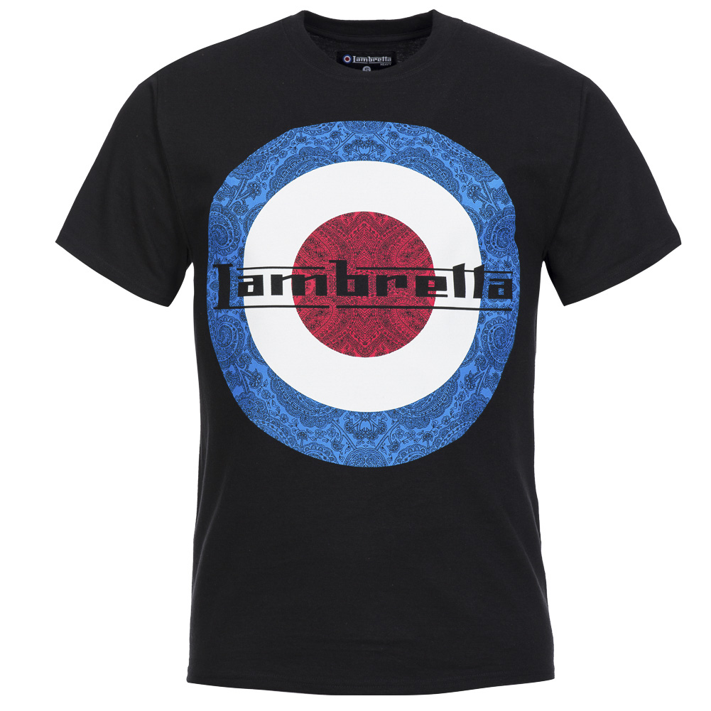 details about lambretta herren t shirt freizeit shirt tee s m l xl 2xl. Black Bedroom Furniture Sets. Home Design Ideas
