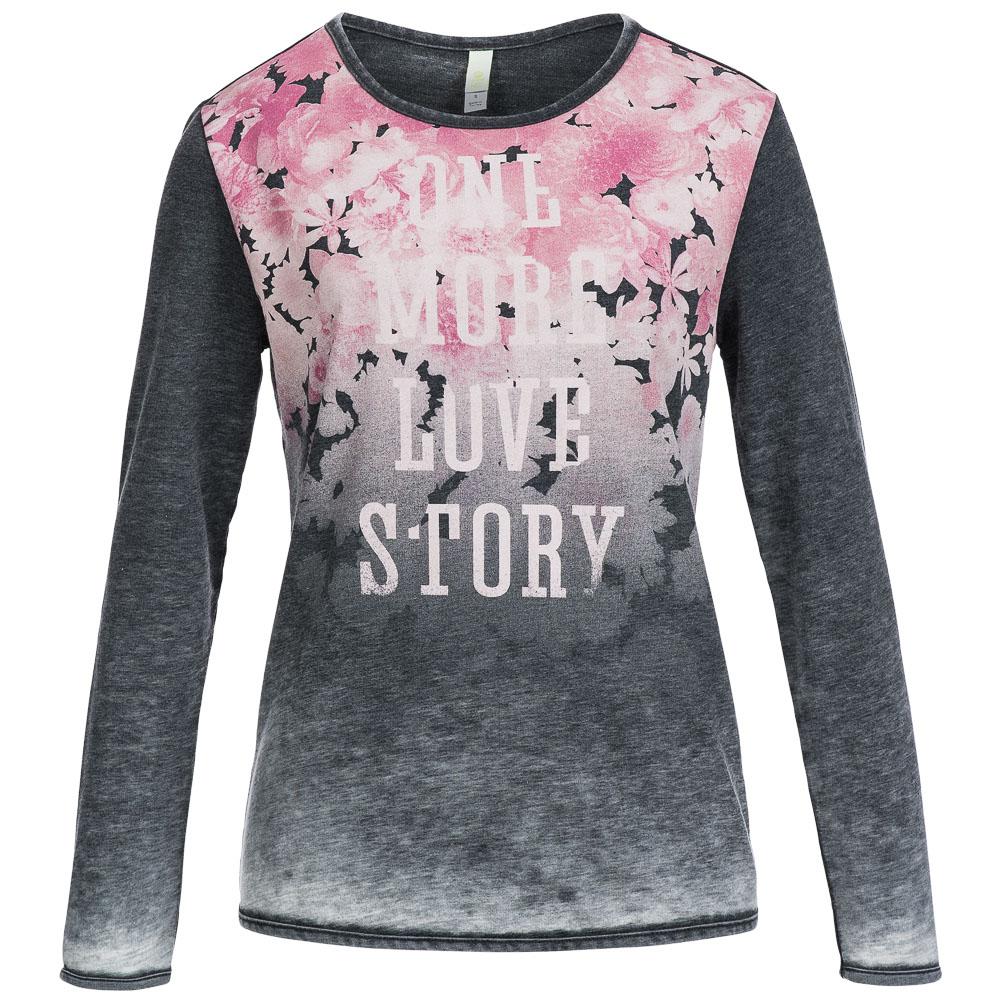 adidas neo floral sweatshirt b82832 damen langarm sweat. Black Bedroom Furniture Sets. Home Design Ideas