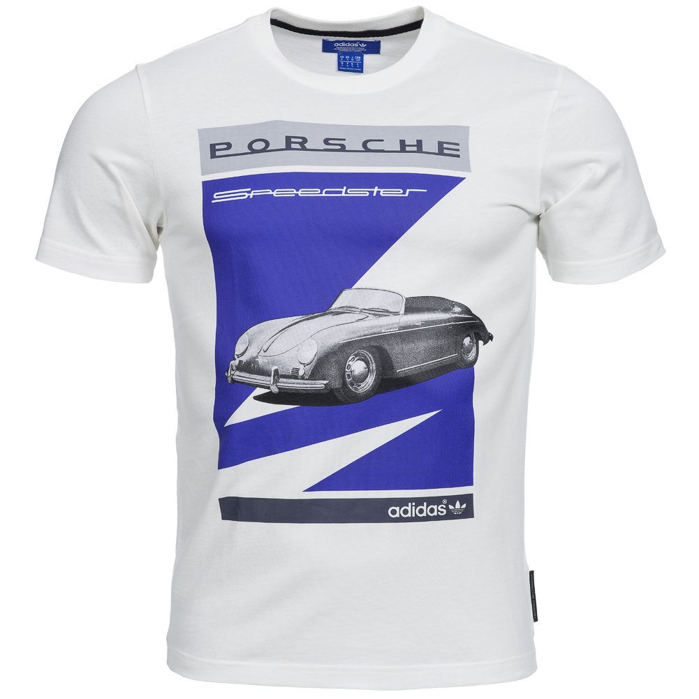 adidas originals porsche graphic t shirt herren freizeit. Black Bedroom Furniture Sets. Home Design Ideas