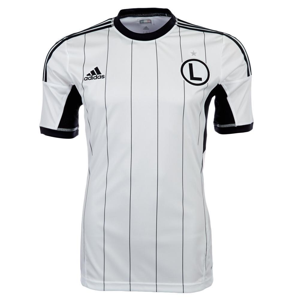 Legia Warsaw Football Shirt Legia Warsaw Adidas Home Shirt