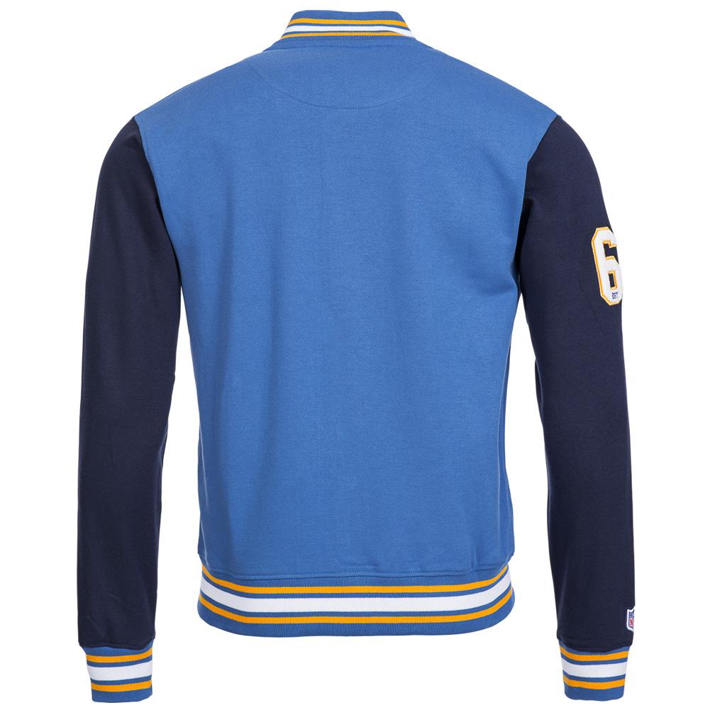 San Diego Chargers Fleece: San Diego Chargers Majestic NFL Senell Fleece Lettermann
